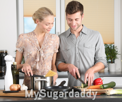 Recetas románticas y simples para cocinar con tu Sugar Daddy